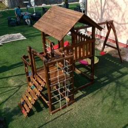 STAN és PAN óriás fa tetős torony minden korosztálynak